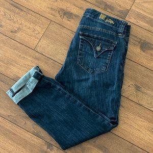 Kut from the Kloth Cuffed Capri Jeans